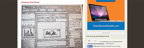 40 Examples Of Web Design Sketches And Wireframes
