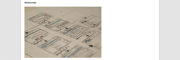 25 Examples of Wireframes and Mockups Sketches | inspirationfeed.com